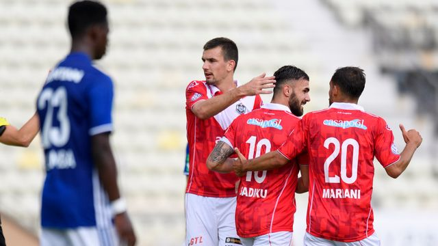 Lausanne s'est incliné alors qu'il menait 1-0 à la pause. [Keystone]