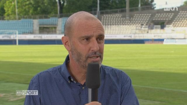 Football- Super League: entretien avec le président du Lausanne-Sport, Alain Joseph [RTS]