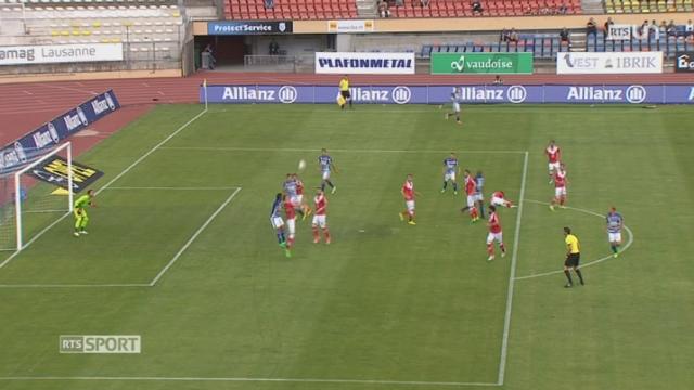 Football- Super League: Lausanne perd contre Lugano (1-2) mais sauve sa tête [RTS]