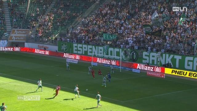 Football- Super League: le FC Sion s'éloigne de la 3ème place après son nul à Saint-Gall (1-1) [RTS]