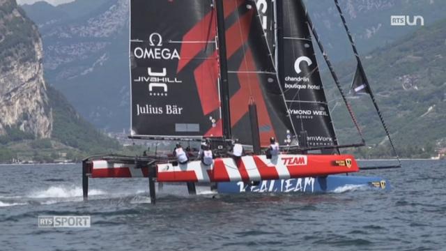 Voile: la Team Tilt représentera la Suisse à la Coupe de l'America des jeunes [RTS]