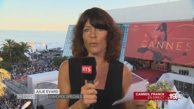 Cannes: l'état du palmarès en direct avec Julie Evard [RTS]