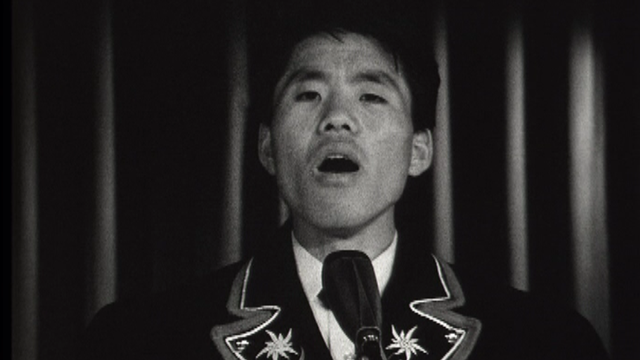Jodleur coréen, 1968. [RTS]