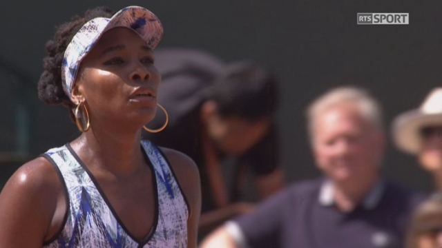 Roland-Garros, 2e tour: Williams (USA) – Nara (JPN) 6-3 [RTS]