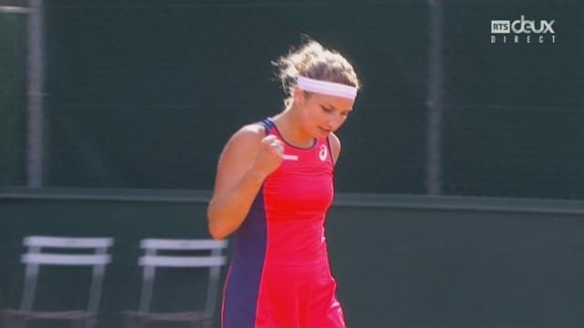Roland-Garros, 2e tour: Bacsinszky (SUI) bat Brengle (USA) 6-0 6-2 [RTS]