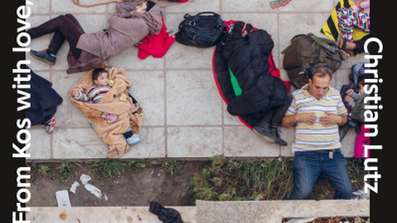 Christian Lutz, Hôtel Captain Elias, 2015, Camp de réfugiés sur l'île de Kos,Grèce. [Christian Lutz - Quartier Général (QG)]