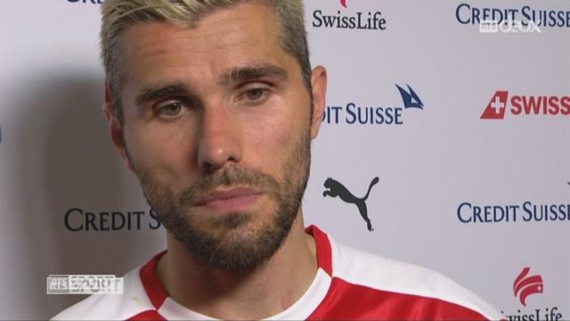 Match amical, Suisse – Bélarus 1-0, interview de Valon Behrami [RTS]