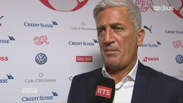 Match amical, Suisse – Bélarus 1-0, interview de Vladimir Petkovic [RTS]