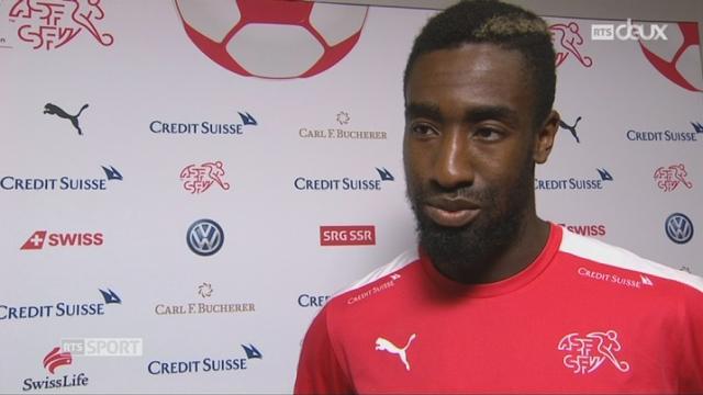 Match amical, Suisse – Bélarus 1-0, interview de Johan Djourou [RTS]