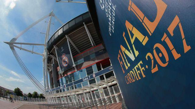 Le Millennium Stadium de Cardiff accueille la finale de la Ligue des Champions 2016-17 entre la Juventus de Turin et le Real Madrid. Anton Denisov/Sputnik AFP [Anton Denisov/Sputnik - AFP]