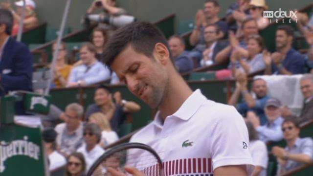 Roland-Garros, 3e tour: Schwartzman (ARG) – Djokovic (SRB) 7-5 3-6 6-3 [RTS]