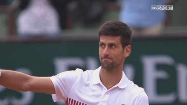 Roland-Garros, 3e tour: Schwartzman (ARG) – Djokovic (SRB) 7-5 3-6 6-3 1-6 1-6, Djoko l'emporte en 5 sets! [RTS]