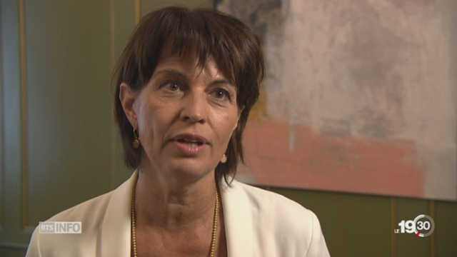 Retrait des USA de l'accord de Paris: la réaction de Doris Leuthard
