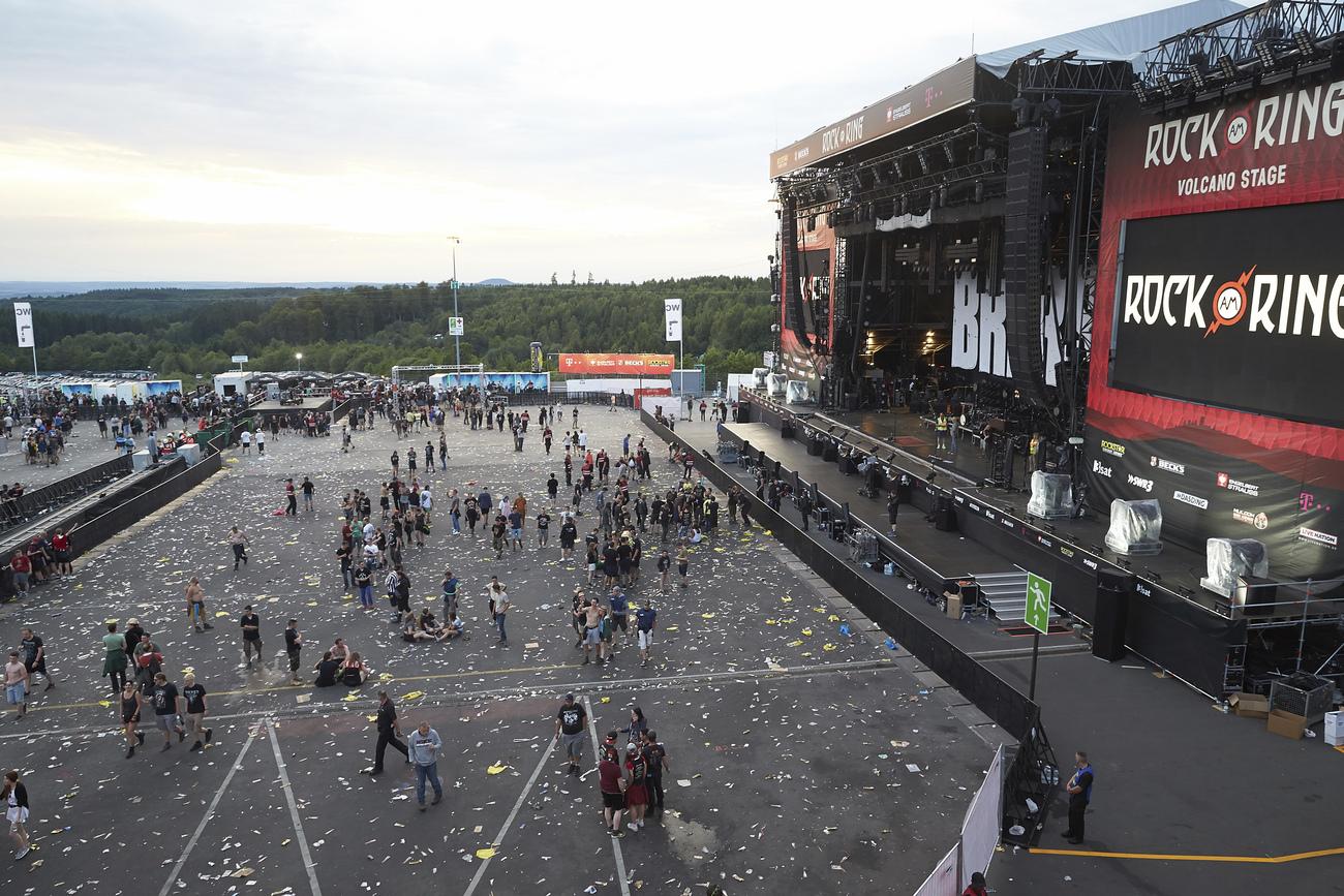 Un festival évacué en raison d'une menace terroriste — Allemagne