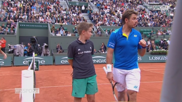 Roland-Garros, 3e tour: Wawrinka (SUI) – Fognini (ITA) 7-6 6-0 [RTS]