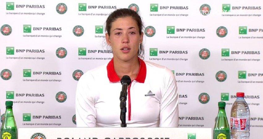 Kristina Mladenovic a du répondant — Roland-Garros