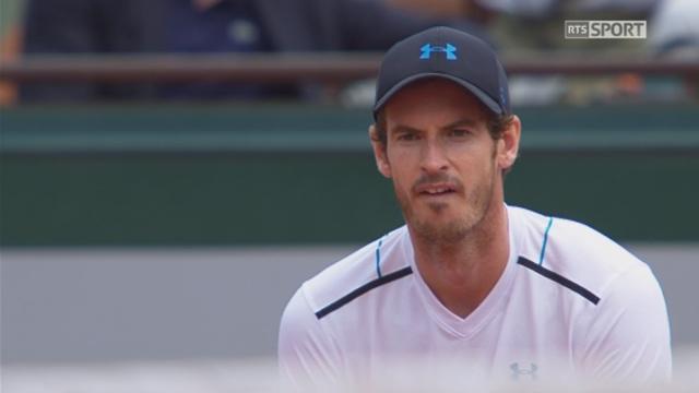 Roland-Garros, 4e tour: Murray (GBR) – Khachanov (RUS) 6-3 [RTS]