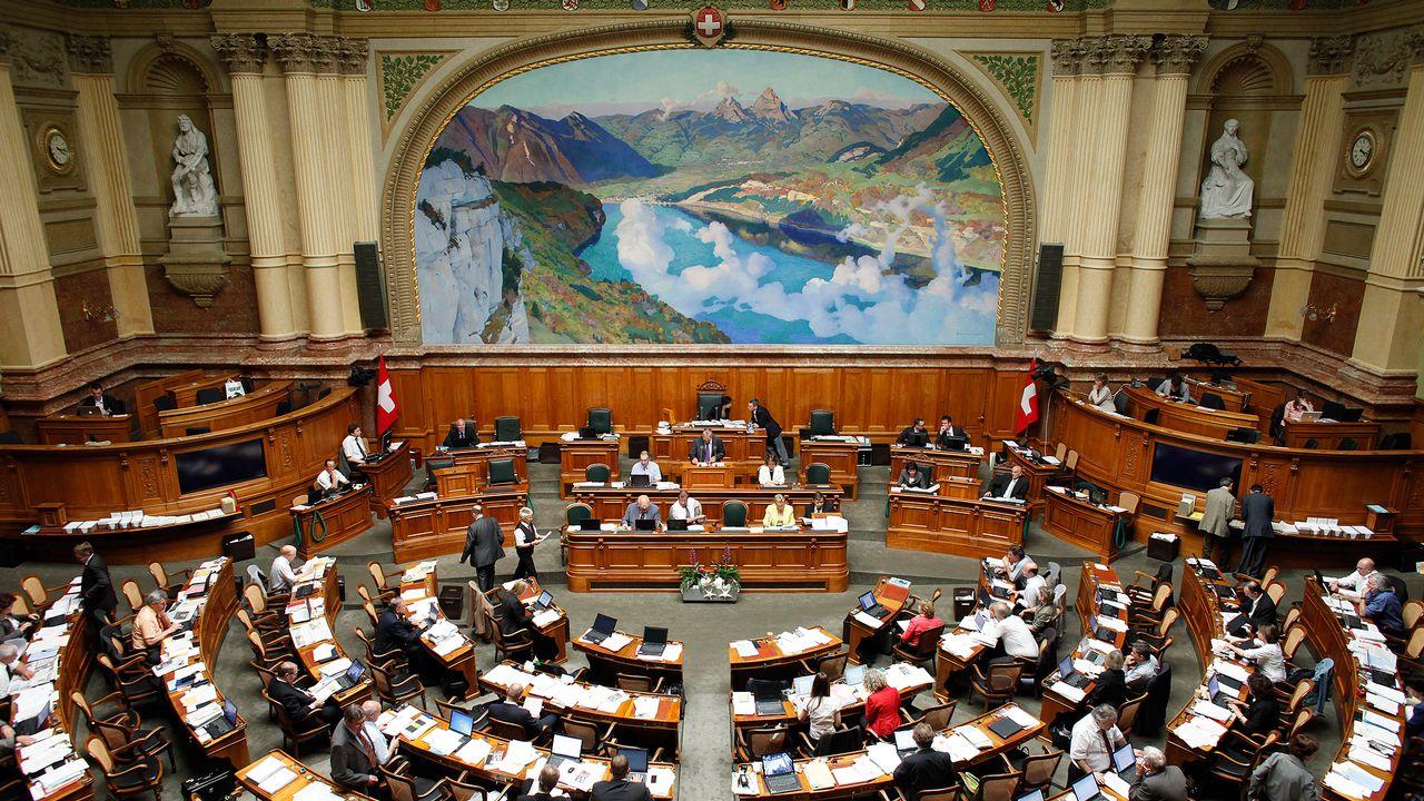 Le Parlement fédéral. [Pascal Lauener - reuters]