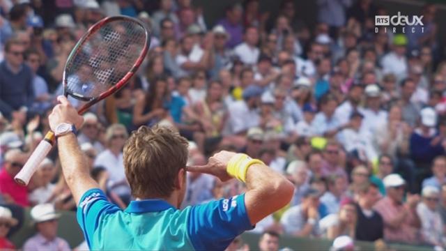 Roland-Garros, 4e tour: Wawrinka (SUI) – Monfils (FRA) 7-5 7-6 6-2 [RTS]