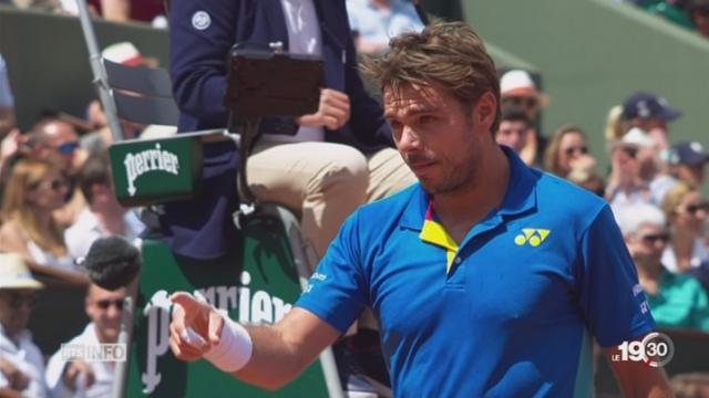 Tournoi de Roland-Garros : Stan Wawrinka en quarts de finale [RTS]