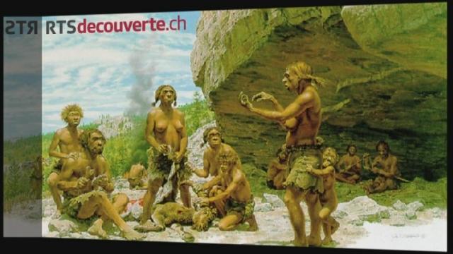 Série archéologie: Grotte de Cotencher [RTS]