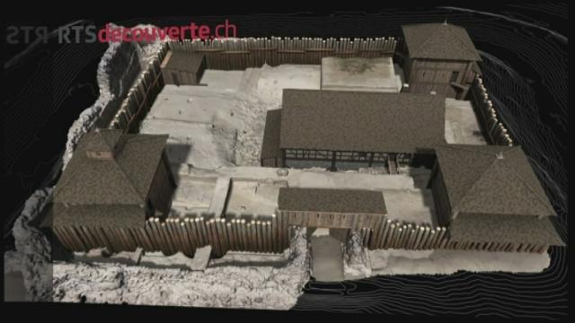 Série archéologie: Château de Rouelbeau [RTS]