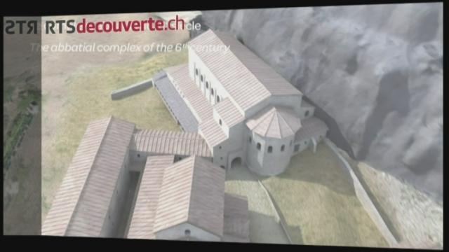 Série archéologie: Abbaye Saint-Maurice d'Agaune [RTS]