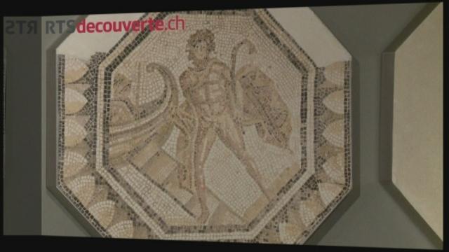 Série archéologie: Mosaïques d'Orbe-Boscéaz [RTS]