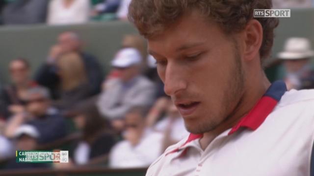Roland-Garros, 1-4: Carreno Busta (ESP) – Nadal (ESP) 2-6 [RTS]