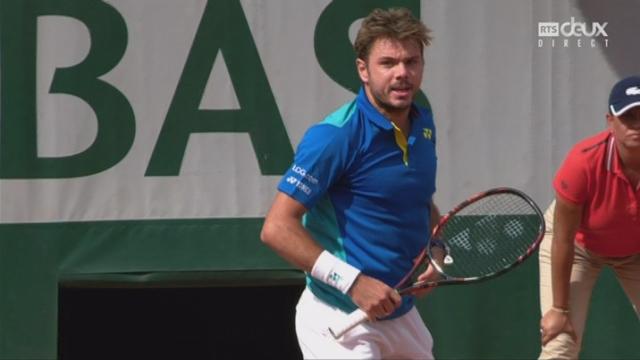 Roland-Garros, 1-4: Wawrinka (SUI) – Cilic (CRO) 6-3 [RTS]