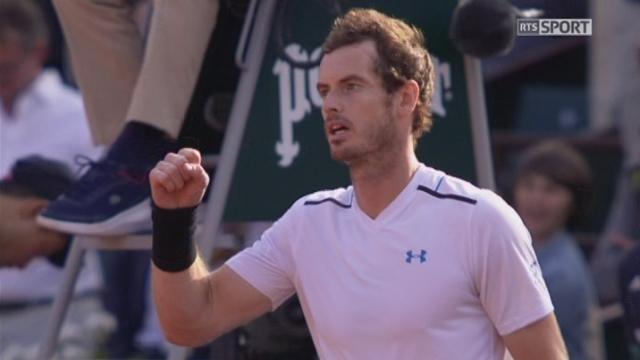 Roland-Garros, 1-4: Murray (GBR) – Nishikori (JPN) 2-6 6-1 7-6 6-1 [RTS]