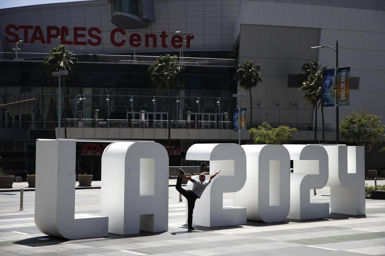 JO 2024 - Los Angeles ouvre la porte à une candidature pour 2028