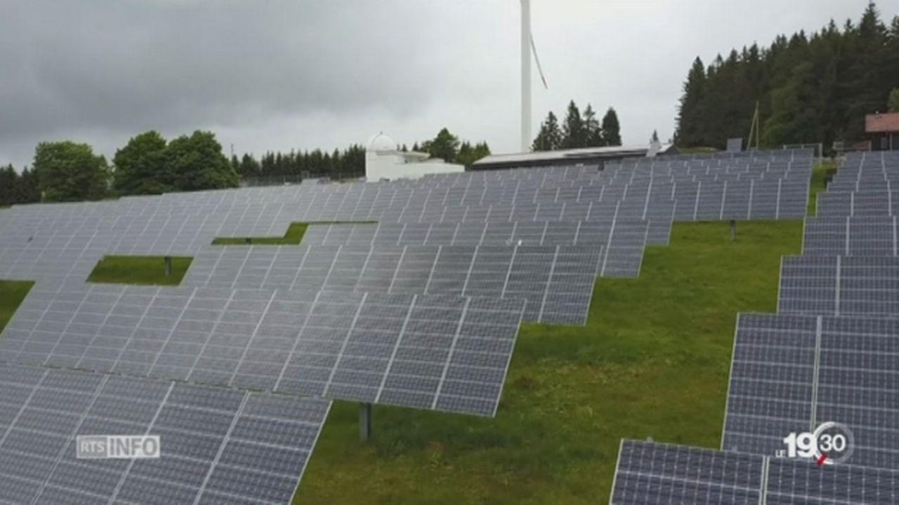 Energie solaire: des cellules au rendement meilleur que prévu [RTS]