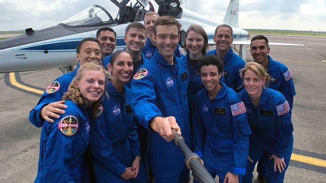La dernière sélection de candidats astronautes de la Nasa. [HO / NASA  - AFP]