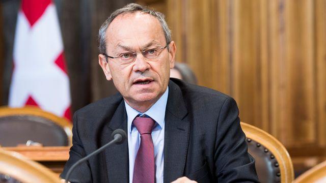 Le conseiller aux Etats Olivier Français (PLR-VD). [Anthony Anex - Keystone]