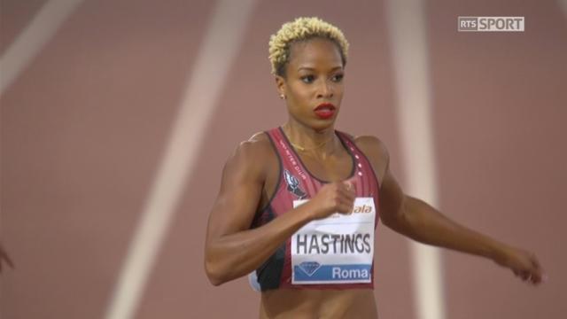 Rome (ITA), 400m: Hastings (USA) première, Léa Sprunger 7e [RTS]