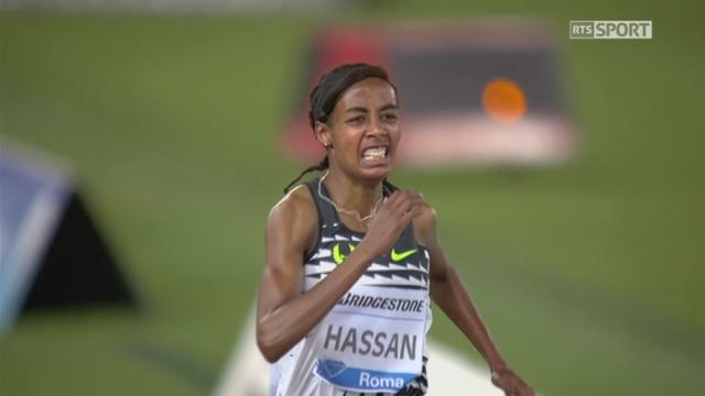 Rome (ITA), 1500m: victoire et record de la saison pour Sifan Hassan (NED) [RTS]