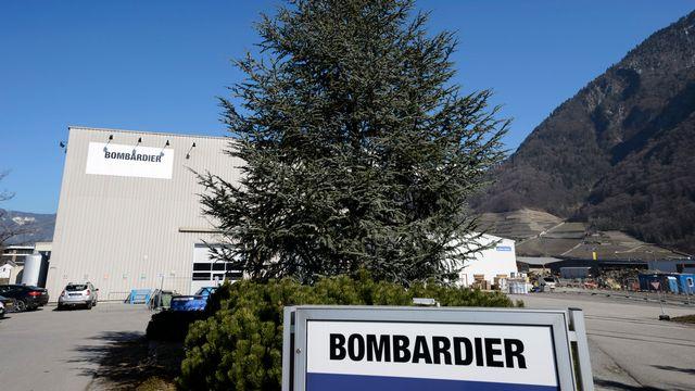 Le site de Bombardier à Villeneuve. [Laurent Gillieron - Keystone]