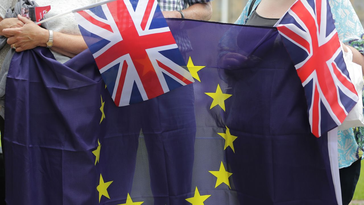 Quelles conséquences les résultats des législatives britanniques auront-ils sur le Brexit? [Daniel Leal-Olivas  - AFP]