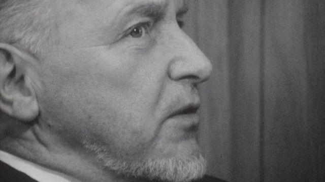 Jean Daetwyler en 1969 [RTS]