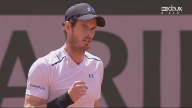 Roland-Garros, 1-2: Murray (GBR) – Wawrinka (SUI) 7-6 [RTS]