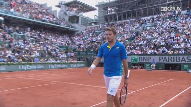 Roland-Garros, 1-2: Murray (GBR) – Wawrinka (SUI) 7-6 3-6 [RTS]