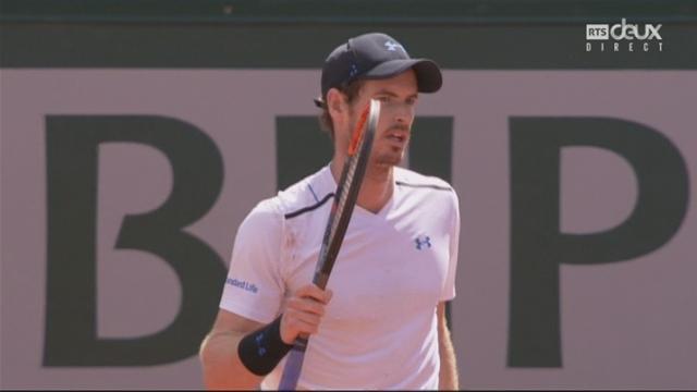 Roland-Garros, 1-2: Murray (GBR) – Wawrinka (SUI) 7-6 3-6 7-5 [RTS]