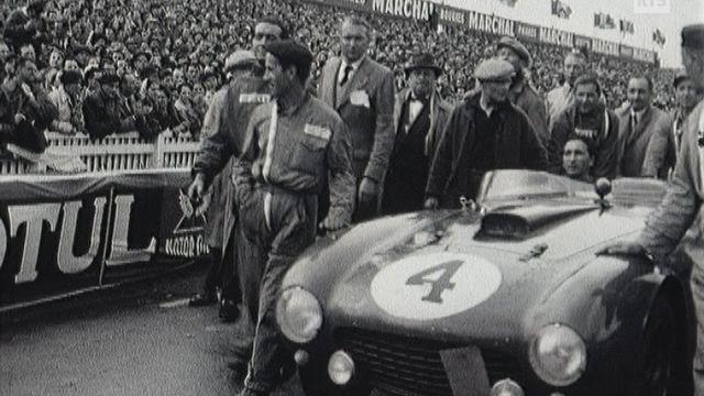 La Ferrari des vainqueurs aux 24 Heures du Mans 1958. [RTS]
