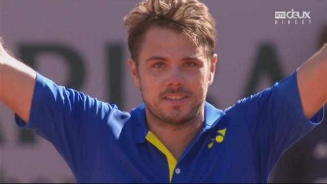 Roland-Garros, 1-2: Murray (GBR) battu par Wawrinka (SUI) 7-6 3-6 7-5 6-7 1-6 [RTS]