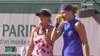 Roland-Garros, 1-2: Mattek-Sands (USA) - Safarova (CZE) – Chan (TPE) - Hingis (SUI) 6-4 [RTS]