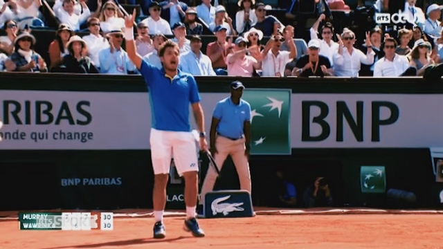 Stan Wawrinka: les plus beaux points de sa victoire face à Murray [RTS]