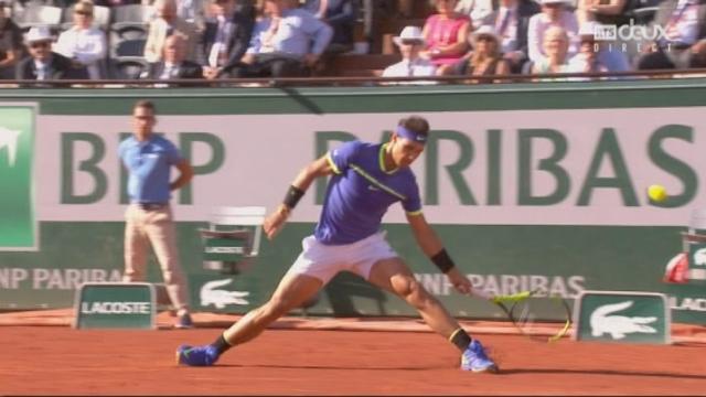 Roland-Garros, 1-2: Nadal (ESP) – Thiem (AUT) 6-3 [RTS]