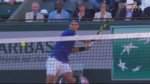Roland-Garros, 1-2: Nadal (ESP) – Thiem (AUT) 6-3 6-4 [RTS]