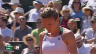 Roland-Garros, finale: Ostapenko (LAT) – Halep (ROU) 4-6 [RTS]